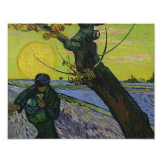Vincent van Gogh - The Sower Photograph
