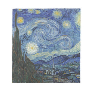 Vincent van Gogh | The Starry Night, June 1889 Notepad