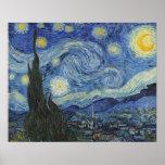 Vincent van Gogh | The Starry Night, June 1889 Poster