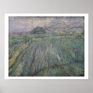 Vincent van Gogh | The Thunder Storm Poster