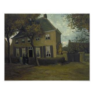 Vincent van Gogh - The Vicarage at Nuenen Photograph