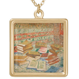Vincent van Gogh | The Yellow Books, 1887 Gold Plated Necklace