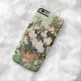 Vincent Van Gogh Vase With Pink Roses Floral Art Barely There iPhone 6 Case