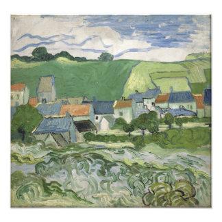 Vincent van Gogh - View of Auvers Art Photo