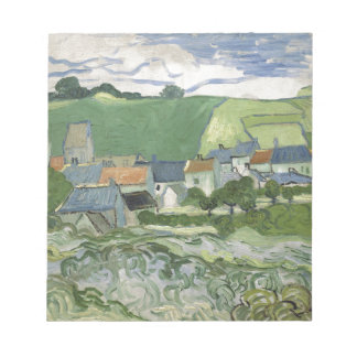 Vincent van Gogh - View of Auvers Notepad