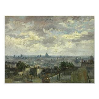 Vincent van Gogh - View of Paris Photo Print