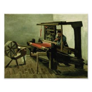Vincent van Gogh - Weaver Photo Print