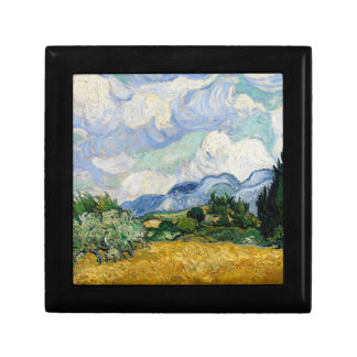 Vincent Van Gogh Wheat Field With Cypresses Gift Box