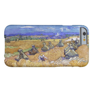 Vincent Van Gogh Wheat Stacks With Reaper Vintage Barely There iPhone 6 Case