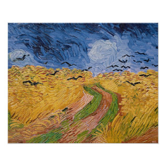 Vincent van Gogh | Wheatfield with Crows, 1890 Poster