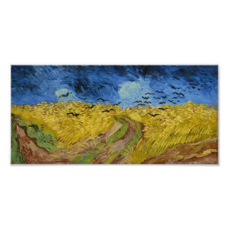 Vincent van Gogh - Wheatfield with crows Photo Print