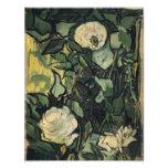Vincent Van Gogh White Roses Rose Vintage Art