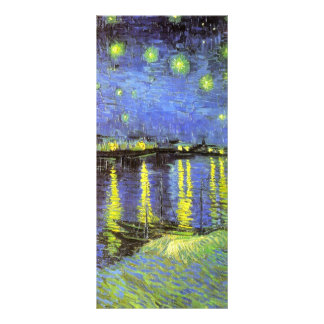 Vincent van Gogh's Starry Night Over the Rhone Rack Card