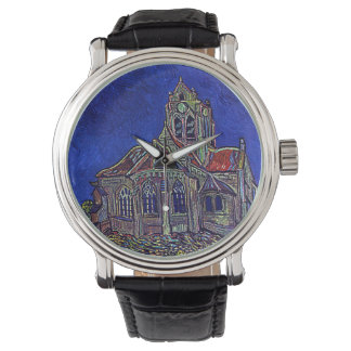 Vincent Van Gogh's 'The Church of Auvers' Wristwatches