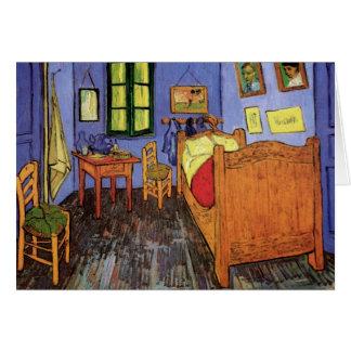 Vincent's Bedroom in Arles by Vincent van Gogh Greeting Card