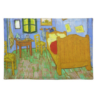Vincent's Bedroom in Arles by Vincent Van Gogh Placemat