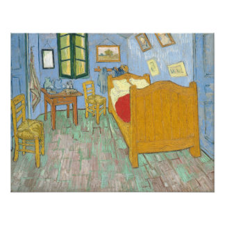 Vincent's Bedroom in Arles Photo Art