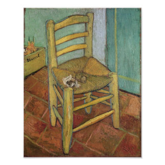Vincent's Chair, 1888 Poster