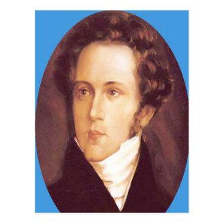 VINCENZO BELLINI Opera Composer Postcard