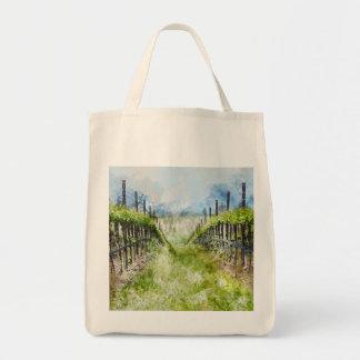 Vineyard in Napa Valley California Tote Bag