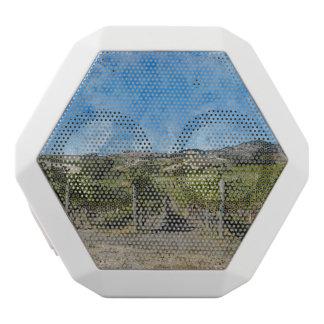 Vineyard in Napa Valley California White Bluetooth Speaker