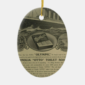 Vinolia Otto Toilet Soap advert Christmas Ornament