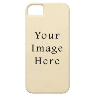 Vintage 1817 Cream Beige White Parchment Paper Case For The iPhone 5