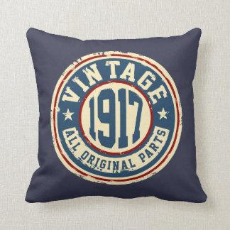 Vintage 1917 All Original Parts Cushion