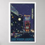 Vintage 1920's Times Square Posterette Poster