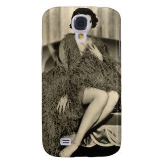 Vintage 1930s Film Star Pinup Galaxy S4 Case