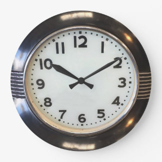 Vintage 1930's Style Art Deco Wall Clock