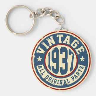 Vintage 1937 All Original Parts Key Ring