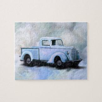 Vintage 1939 Truck Puzzle