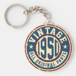 Vintage 1950 All Original Parts Key Ring