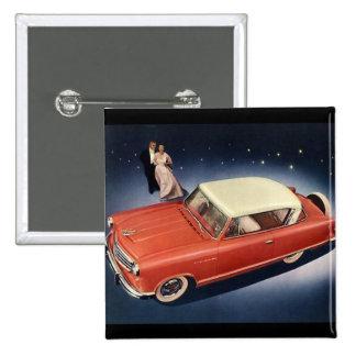 Vintage 1950 Auto Pin
