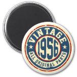 Vintage 1956 All Original Parts 6 Cm Round Magnet