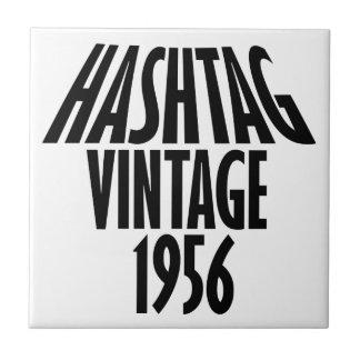 vintage 1956 designs small square tile
