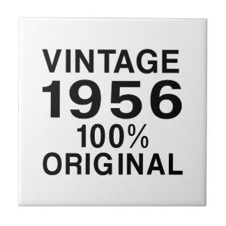 Vintage 1956 small square tile