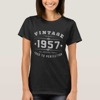 Vintage 1957 Birthday T-Shirt