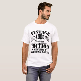 VINTAGE 1958 LIMITED EDITION GENUINE ORIGINAL PART T-Shirt