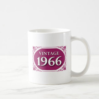 Vintage 1966 50th Birthday Mug