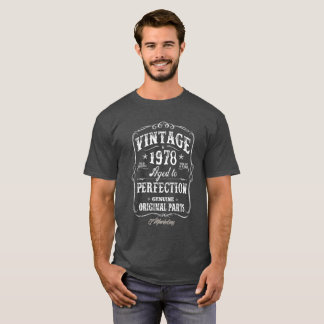 Vintage 1978 Shirt Birthday 40 Tshirt Born Forty