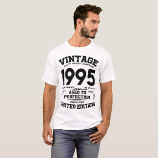 vintage 1995 aged to perfection limited edition T-Shirt