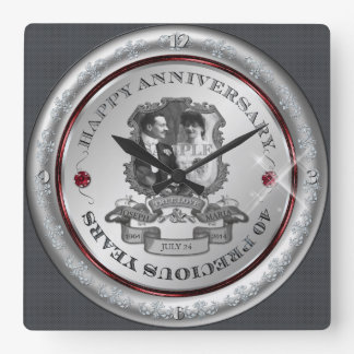 Vintage 40th Anniversary ID195 Clock