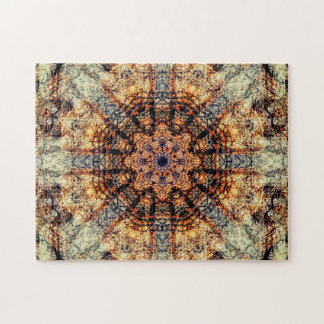 Vintage | Abstract Art | Mandala Jigsaw Puzzle