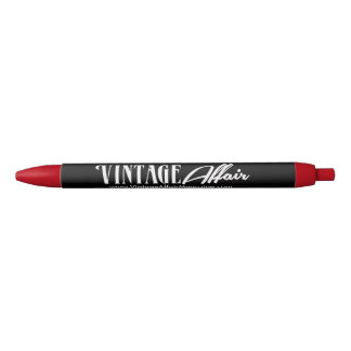 Vintage Affair Write Black Ink Pen