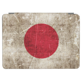 Vintage Aged and Scratched Flag of Japan iPad Air Cover