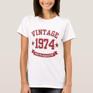 Vintage Aged to Perfection 1974 T-Shirt