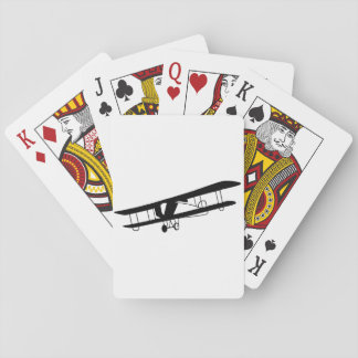 Vintage Airplane Playing Cards