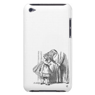 Vintage Alice in Wonderland looking for the door iPod Touch Cover